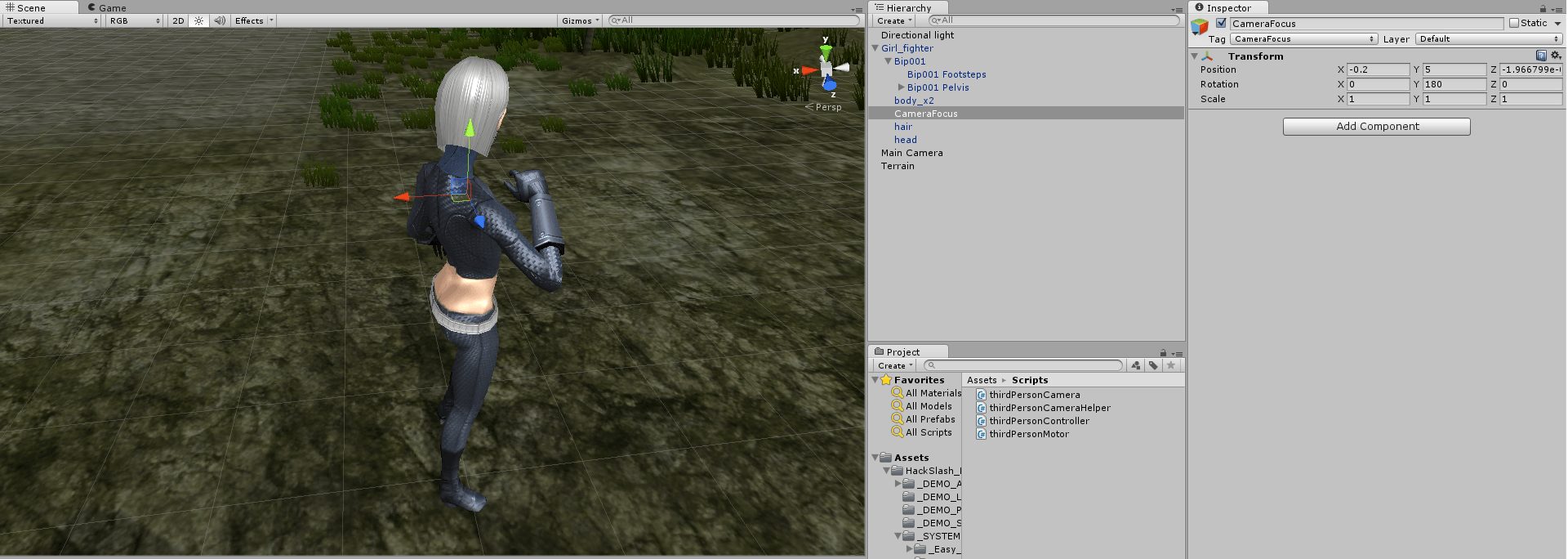 Third Person MMO-like Camera and Movement System (C#) | Zesix