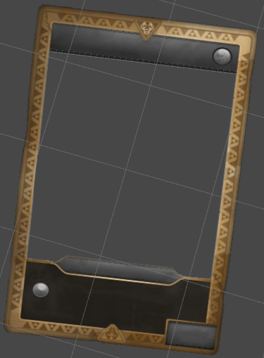 Zems Card Template in Unity