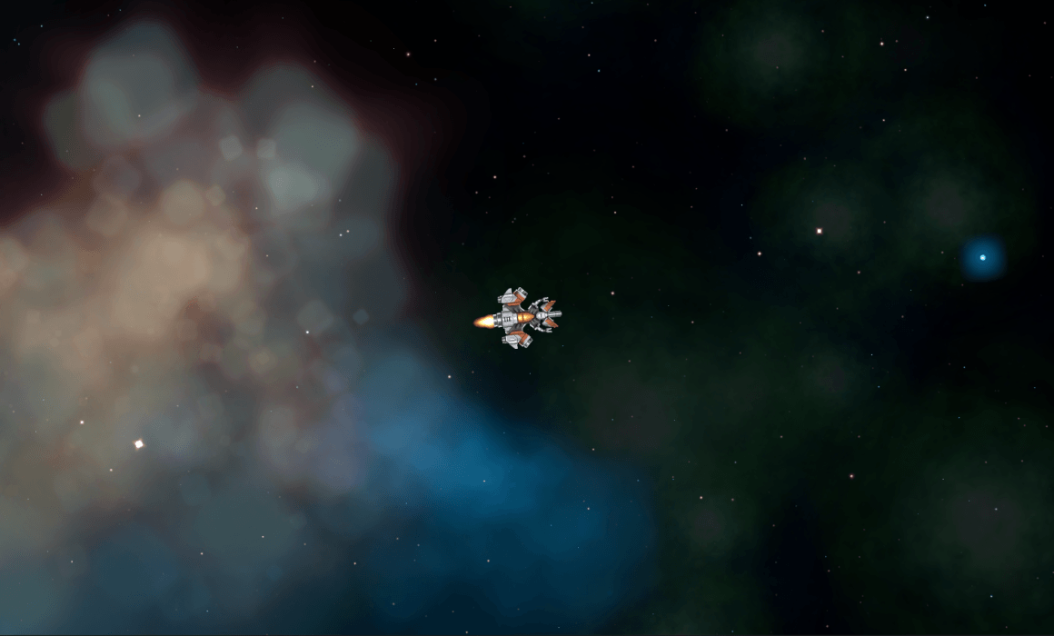 1GAM space shooter shooting